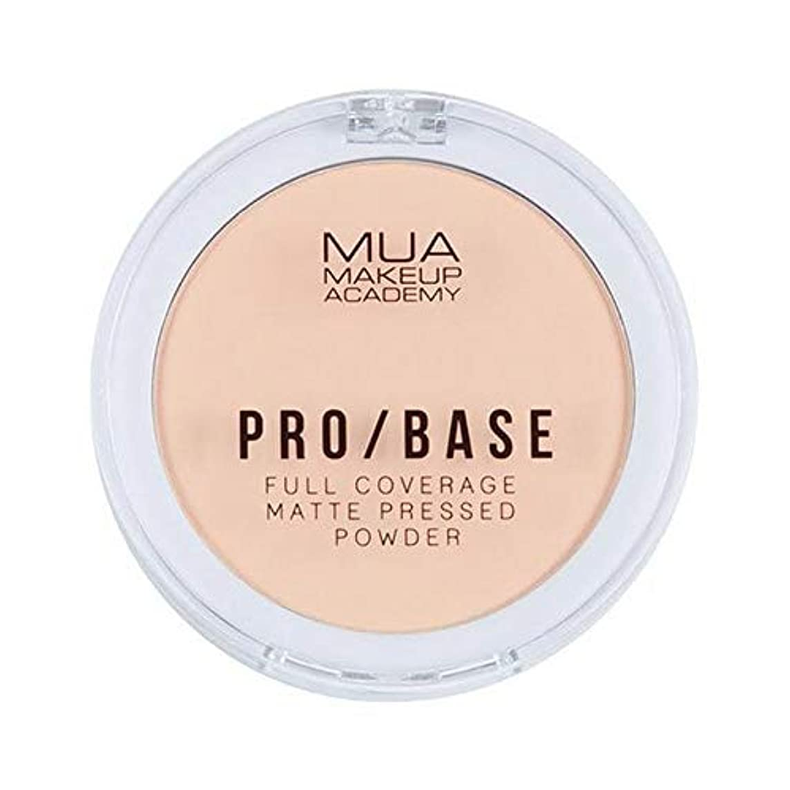 大統領繁栄強要[MUA] Mua Pro/ベースフルカバレッジマット粉末#110 - MUA Pro/Base Full Coverage Matte Powder #110 [並行輸入品]