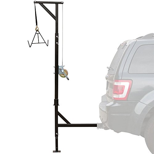 Kill Shot Deer-Hoist-SWEIVEL Deluxe Hitch-Mounted Deer...