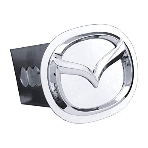 """dantegts Mazda enchufe de enganche de remolque Logo Acero Inoxidable 2""""Receptor Zoom CX-5CX-9"""