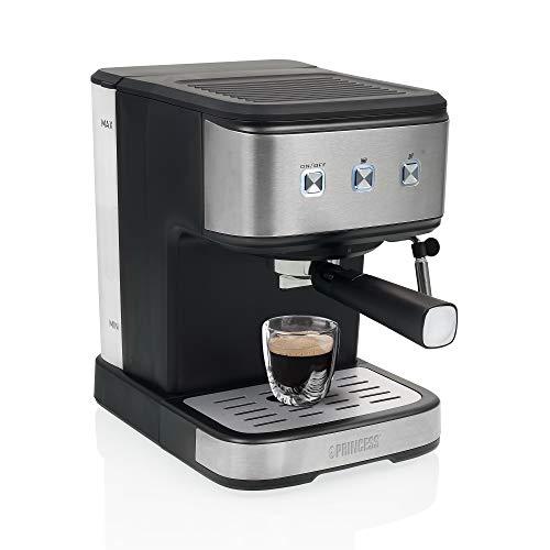 Princess 249413 Máquina de Espresso y cápsula, 20 bares, Depósito de agua de 1,5 L