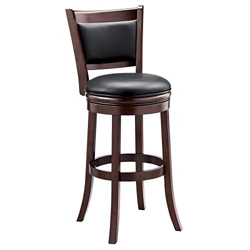 Ball & Cast Swivel bar Height Stool, 29, Inch,1-Pack, Cappuccino