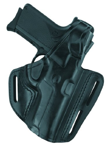 Gould & Goodrich B803-U45 Gold Line Three Slot Pancake Holster (Black) Fits H&K USP 9, 40, 45; 4.25 in. and 4.41 in.bbl.