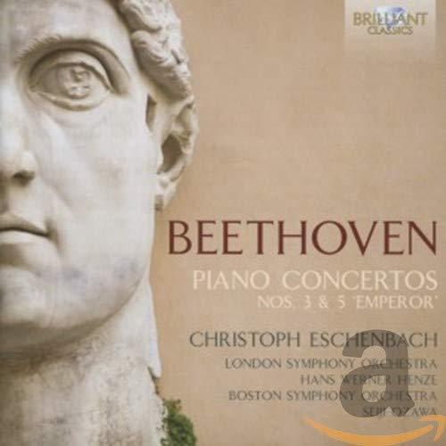 Christoph/Lso. Eschenbach - Beethoven; Piano Concertos 3 & 5 Em