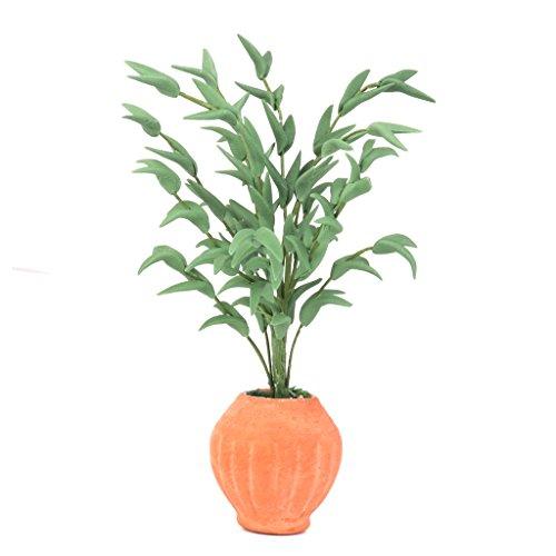 Bonsaï Plante Miniature pour 1/12 Maison de Poupée Décor