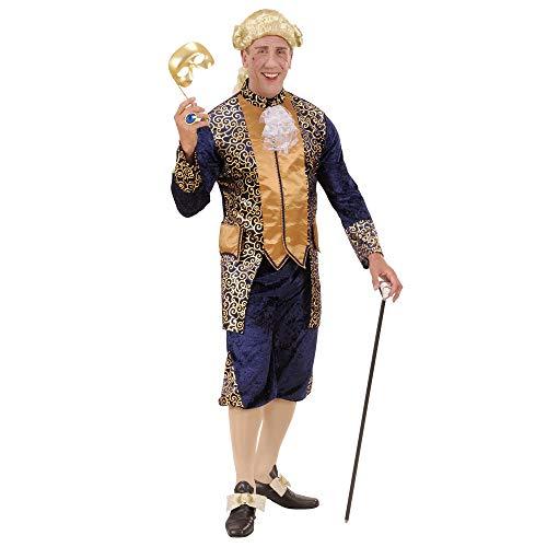 WIDMANN Disfraz de Marques morado y dorado adulto Carnaval