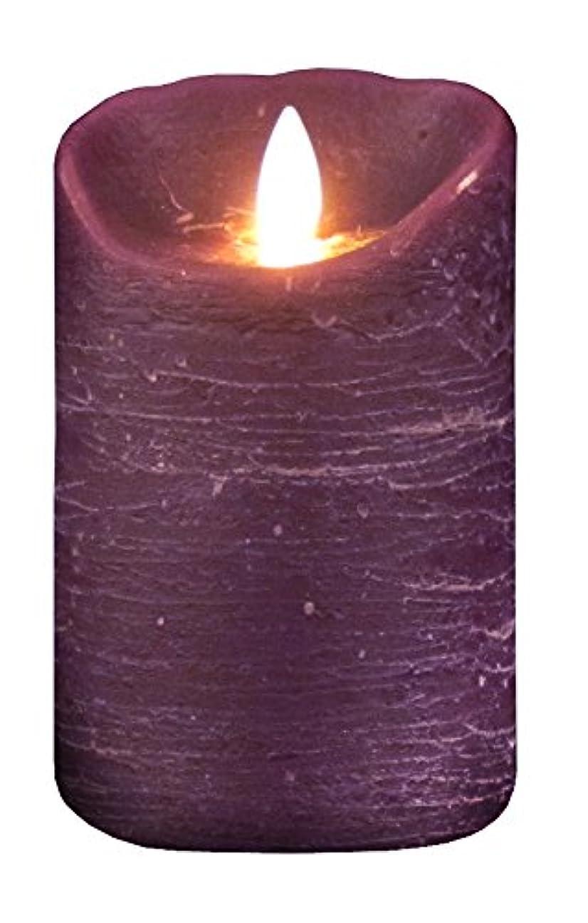 全滅させる適格照らすムービングキャンドル ルナーテ【フェイクキャンドル】 パープル