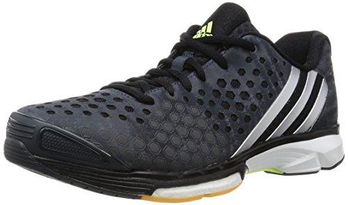 adidas adidas Damen Volleyballschuhe Volley Response Boost dark grey/silver met./frozen yellow f15 36 2/3