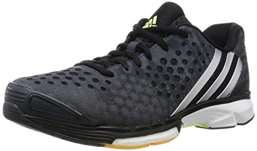 adidas adidas Damen Volleyballschuhe Volley Response Boost dark grey/silver met./frozen yellow f15 36 2/3