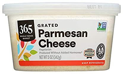 365 Everyday Value, Parmesan Cheese, Grated, 5 oz