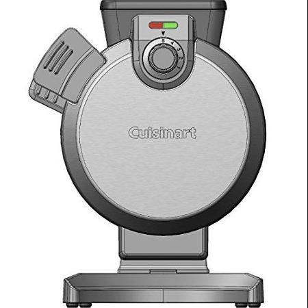 Cuisinart Waf-V100 Vertical Waffle Maker, Silver ワッフルメーカー[並行輸入品]