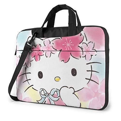 Bolso bandolera para ordenador portátil Hello Kitty con diseño de Hello Kitty