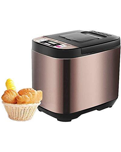 Home Máquina De Pan Multifuncional Máquina De Pan Inteligente De 580 W Menú De 19 Panificadora De Trigo Integral Sin Gluten De Acero Inoxidable