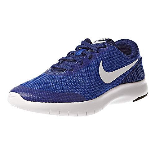 Nike Kids Flex Experience RN 7 (GS) Running Shoe, Hyper Royal/ White, 6 Big Kid
