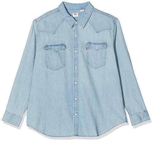 Levi's Herren Classic Western Camisa Hemd mit Button-Down-Kragen, Red Cast Stone Wash Takedown H2 19 0007, 1XL