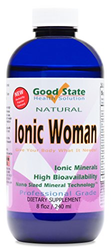 Good State Ionic Woman Multiple Liquid Ionic Minerals, 8 Fluid Ounce