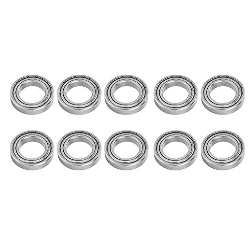 Rodamiento de acero inoxidable, 10 piezas de rodamiento Mini bola Accesorios mecánicos de acero inoxidable Reemplazo S6905ZZ 42x25x9mm