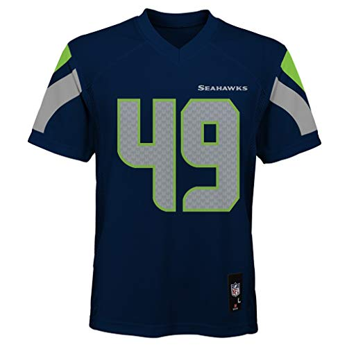 OuterStuff Shaquem Griffin Seattle Seahawks #49 Navy Youth 8-20 Navy...