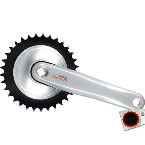 CYCLING_EQUIPMENT Biela Plata FC-C6000 33D 170mm, Adultos Unisex, Negro (Negro), Talla Única