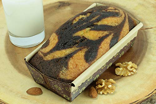 New Premium Paper Baking Loaf Pan, Nonstick, Disposable, All Natural & Eco Friendly, for Chocolate Cake, Banana Bread By Ecobake (6)