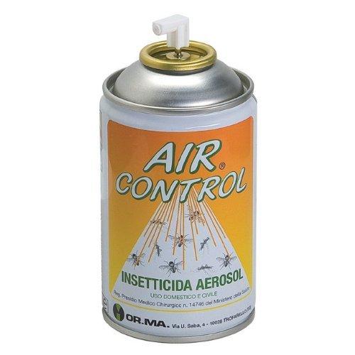 Bomboletta Insetticida Aerosol Air Control A Base Di Piretro - Bombola Per L'Uso Nei Diffusori Dispenser Automatici