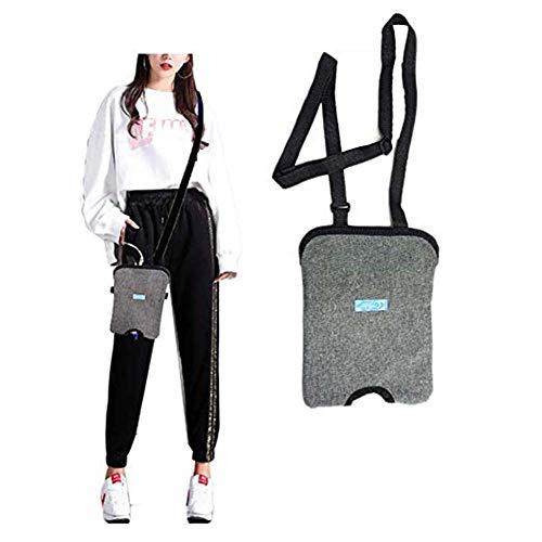 Rziioo Incontinence Kit,Bladder Ostomy Elderly Drainage Bag Care Package,Urinary Catheter Bag Ostomy Bag Holder,1000ml