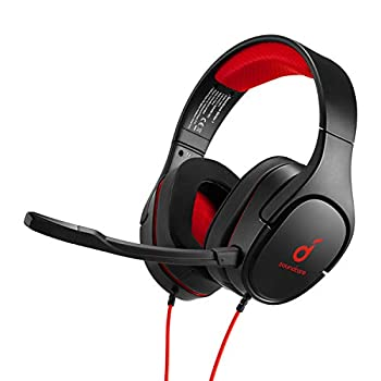 Anker Soundcore Strike 1 Gaming Headset Stereo Sound + Sound Enhancement for FPS Games Noise Isolating Mic and Cooling Gel-Infused Cushions Gaming Headset Compatible with PS4 and PC