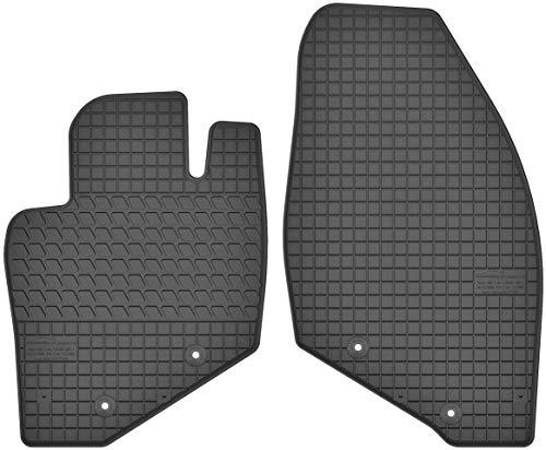 Motohobby Gummimatten Vorne Gummi Fußmatten Satz für Volvo S60 I (2000-2009) / S80 I (1998-2006) / V70 II (2000-2007) - 2-teilig - Passgenau