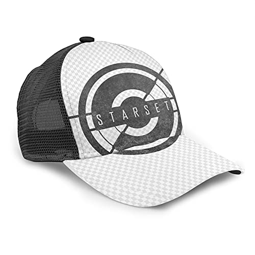 Starset Rock Hip-hop Sombreros Ajustable Running Deportes Running Caps para Deportes al aire libre Negro