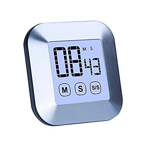 Jayron JR-WG014 Pantalla táctil LCD retroiluminación de cuenta atrás/cuenta atrás del temporizador,para la cocina de la cocina,la boda,la oficina,el sueño del bebé