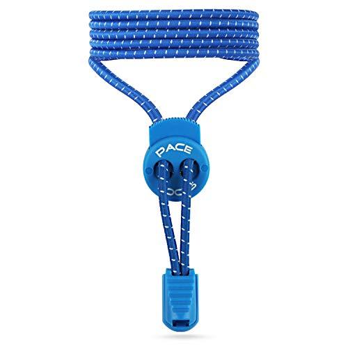 ALPHAPACE PACE LOCKS Cordones elásticos, cordones de zapatos sin nudo, cordones de cierre rápido para deporte, para jóvenes y mayores, 120cm