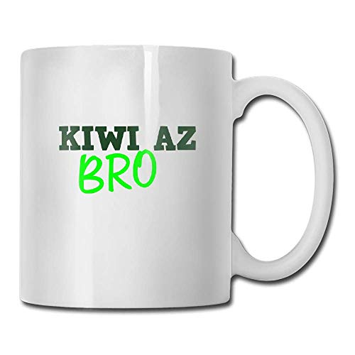 DHIHAS Strong Stability Durable Kaffeebecher Kiwi Az Bro Tea Cup Novelty Gift for Friends