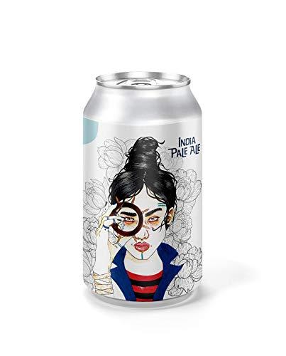 Cerveza Bitácora - Pack 6 unidades - Cervezas Althaia - Cerveza artesana - Premiadas Internacionalmente. Regalos especiales. Lata 33cl. Craft Beer