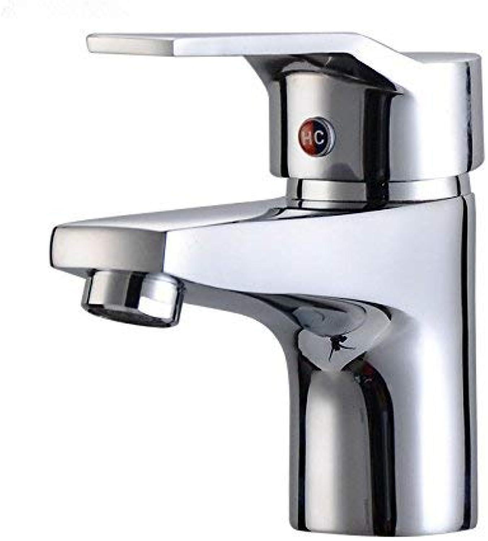 DOJOF Bathroom Vanity Sink Faucet Hot and Cold Water Bathroom Basin Sink Tap Bathroom Faucet