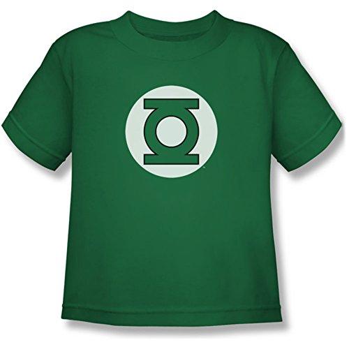 DC/Linterna Verde Logotipo–Los jóvenes de Manga Corta Camiseta de Manga Corta–Kelly Verde