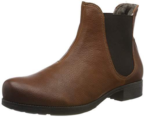 Think! Damen Denk_585026 Chelsea Boots, Braun (Cognac 55), 38 EU