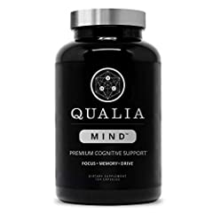 SUPPORT LONG TERM COGNITIVE FUNCTION - Qualia Mind nootropics is designed to replenish vital ingredients required for high level cognition. Give your brain the nourishment it craves so you can perform at your peak. SCIENCE-CENTERED NOOTROPIC FORMULAT...