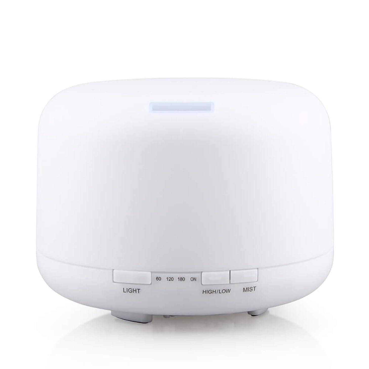 啓示大陸インセンティブ500ml 家庭用加湿器プラグイン超音波アロマセラピーマシンエッセンシャルオイル加湿器ホームナイトライト