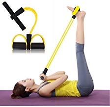 IBIZA Pull Reducer, Waist Reducer Body Shaper Trimmer for Reducing Your Waistline and Burn Off Extra Calories, Arm Exercise, Tummy Fat Burner, Body Building Training, Toning Tube (Multi Color)