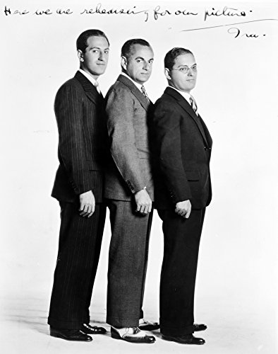 Price comparison product image George Gershwin N(1898-1937) American Composer Left To Right Are George Gershwin Guy Bolton And Ira Gershwin In Hollywood Poster Print by (18 x 24)