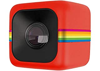Polaroid Cube Act II HD 1080P Mountable Weather-Resistant Lifestyle Action Video Camera (Red) 6MP Still Camera w/Image Stabilization, Sound Recording, Low Light Capability & Other Updated Feature (B00NEZ8JAQ)   Amazon price tracker / tracking, Amazon price history charts, Amazon price watches, Amazon price drop alerts