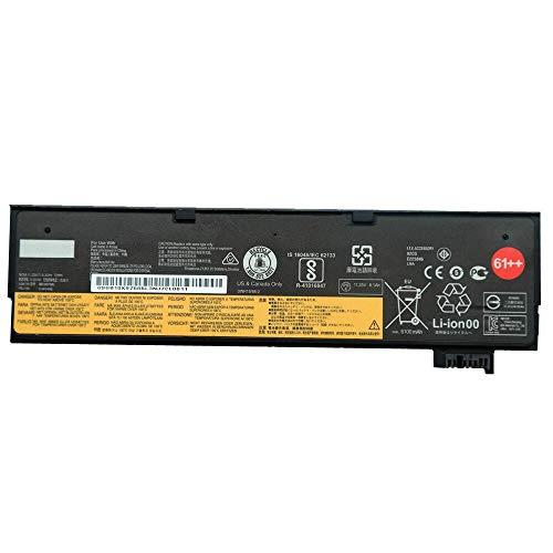 szhyon 11.25V 72Wh 6.32Ah Original 01AV428 01AV492 SB10K97585 Laptop Battery compatible with Lenovo ThinkPad T470 T480 T570 T580 61++