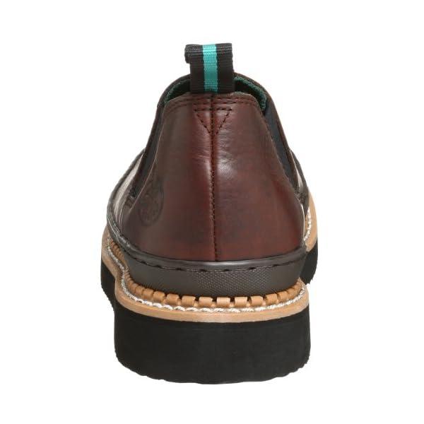 Georgia Boot Men's GR274 Giant Romeo Work Shoe, Soggy Brown, 13 M US