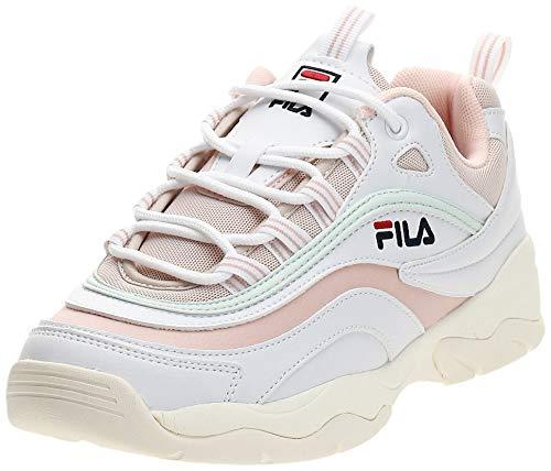 Fila Damen Sneaker RAY Low WMN Weiß Synthetik 38