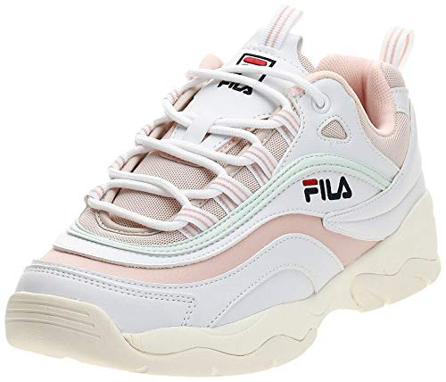 FILA Damen Ray Low WMN Sneaker, Weiß (White 1010562-02y), 40 EU