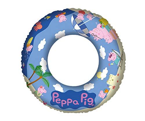 Lively Moments Schwimmring / Badering / Schwimmreifen mit den Charakteren von Peppa Pig / Familie Wutz ca. 45 cm