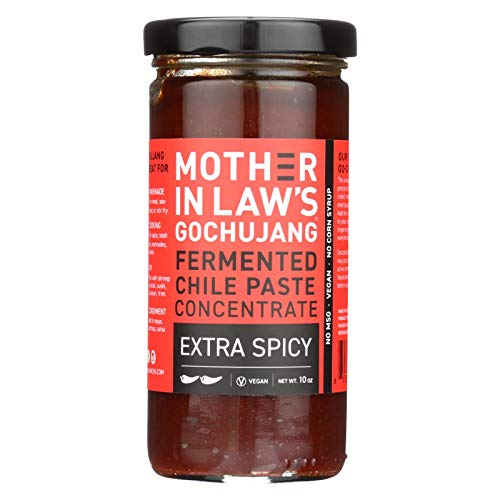 MOTHER-IN-LAW'S KIMCHI, CHILE PASTE, GCHUJNG, SPICY - Pack of 6