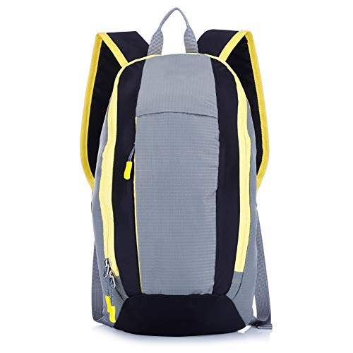 CGMZN Sac à Dos 10L Kid's Backpack Portable Water Resistant Lightweight Mini Camping Hiking Bag 3 Colors