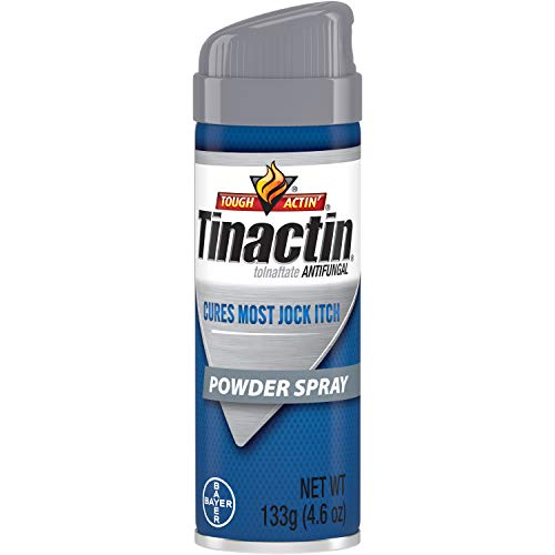 Tinactin Antifungal Spray Powder Jock Itch - 4.6 Oz (Pack of 2)