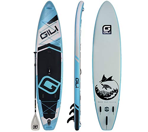 """GILI Adventure Inflatable Stand Up Paddle Board 