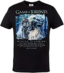 Rule Out Camiseta Game Of Thrones. Invierno Is Coming. Jon Nieve